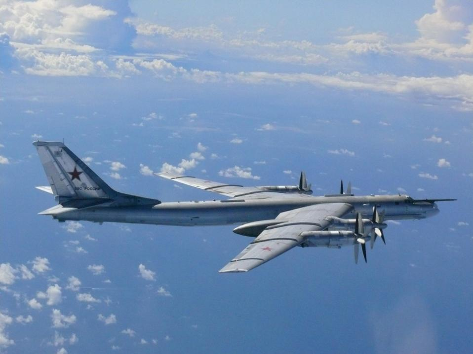 Russian bombers fly over Pacific Ocean, unnerving South Korea and Japan