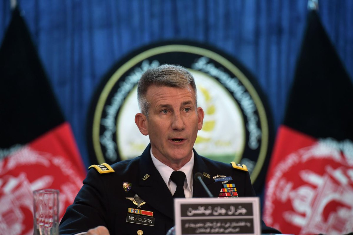 Top U.S. general says ISIS will be crushed in Afghanistan