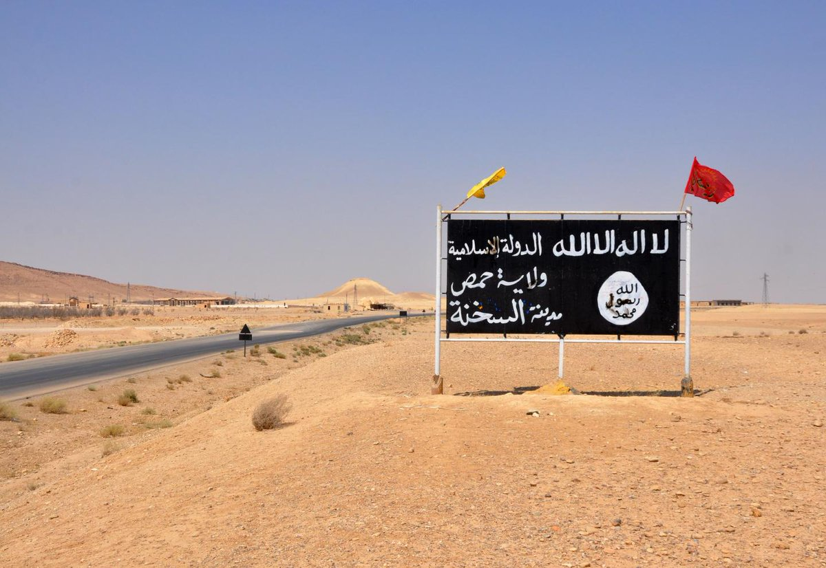 ISIS faces another defeat, this time in the Syrian desert