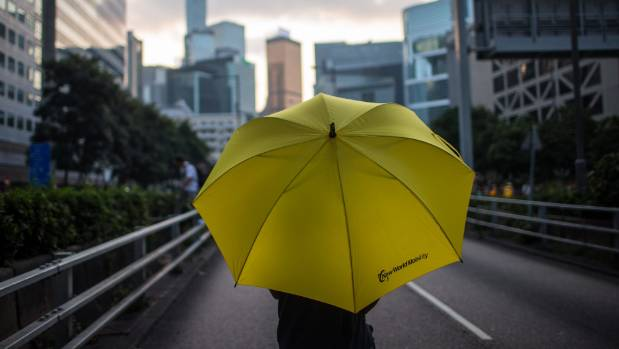 Three young Hong Kong democracy leaders jailed for months