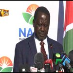Raila : We will not accept computer - generated leaders