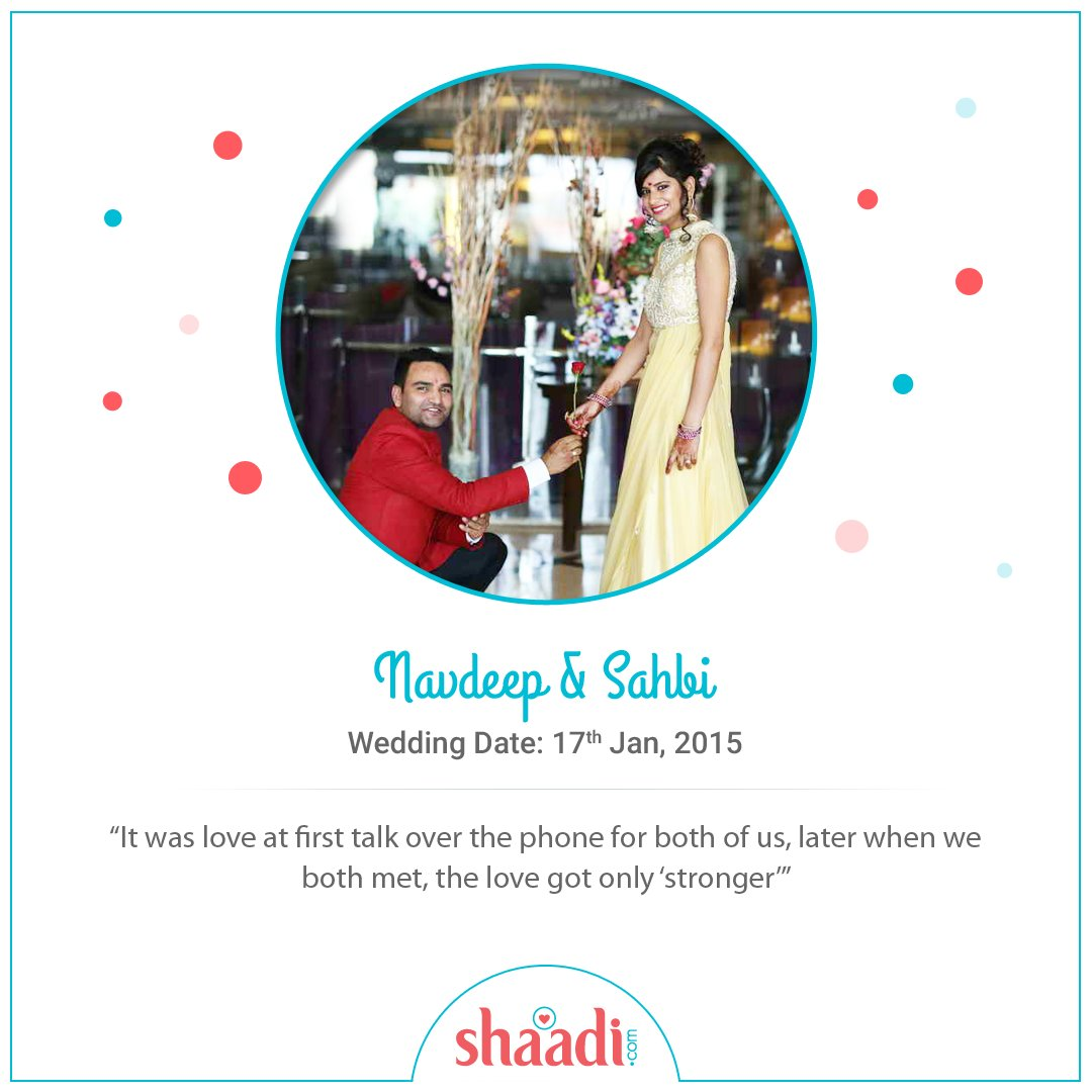test Twitter Media - Wishing our Shaadi Success Story couple a very happy married life! ☺️ https://t.co/lfXMNtAk6g