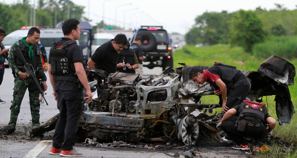Suspected Thai militants turn stolen cars into bombs - police