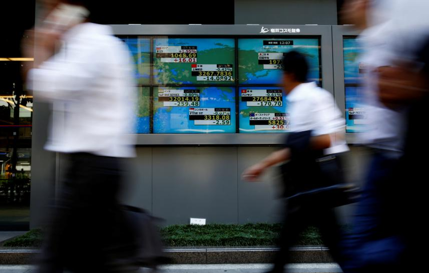 Asia shares up as North Korea tensions ease, wary Fed pressures dollar https://t.co/5wsCtPIthr https://t.co/ZluSnzyplH