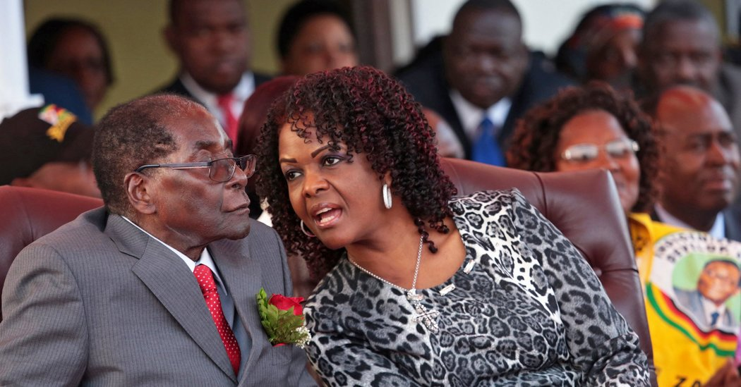 Zimbabwe's First Lady Said to Seek Diplomatic Immunity Over Assault Claim