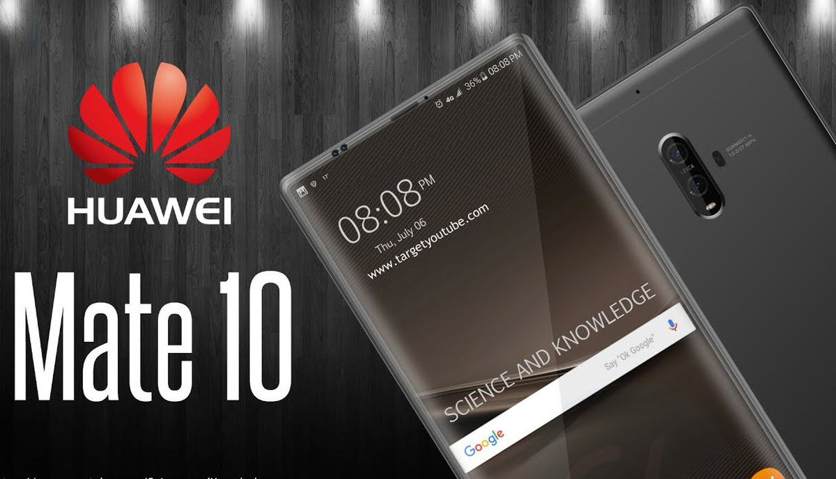 .@Huawei 's Mate 10 Is Set to Go Toe-to-Toe With @Samsung 's Note 8, @Apple...