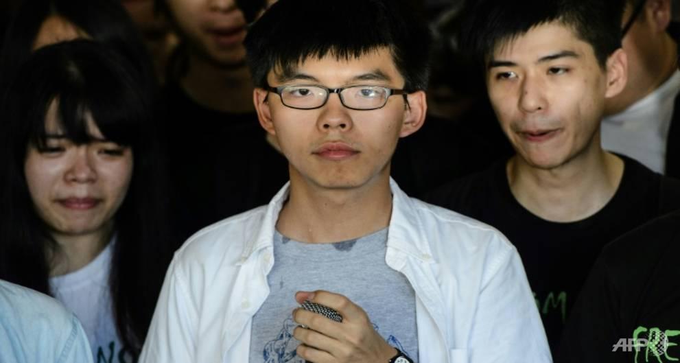 Taiwan condemns jailing of Hong Kong democracy activists