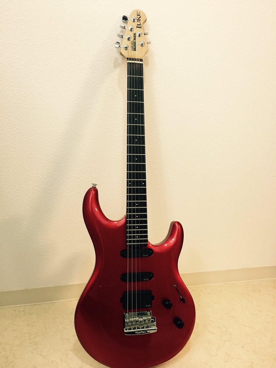 【発売まであと6日!】NEW ALBUM「遥」のRECで使ったギターを紹介していきます!MUSIC MAN LUKE R