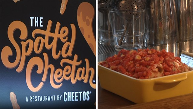 Dangerously cheesy? Cheetos pop-up restaurant opens in NYC
