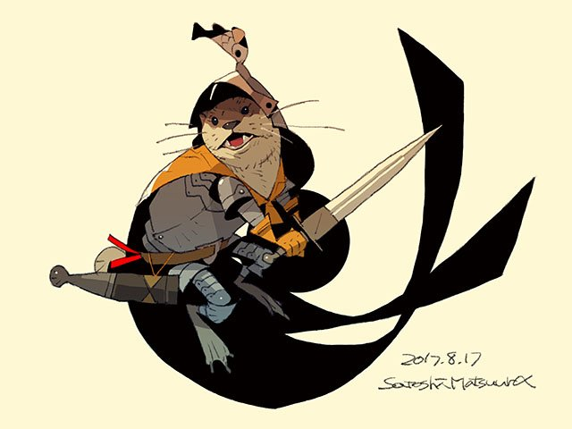 Otter Knight. https://t.co/6FZJdg5Mjf