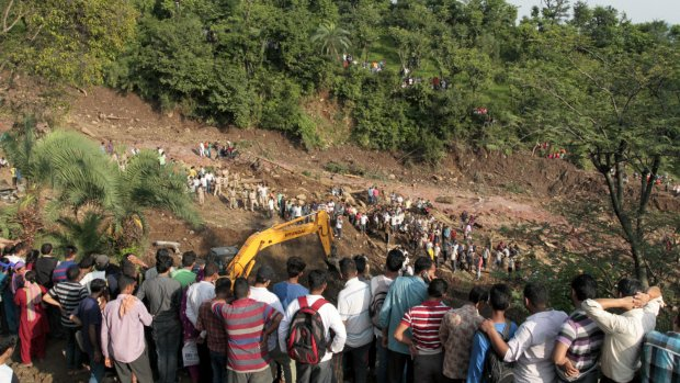 Flooding maroons people in India, eases in Nepal