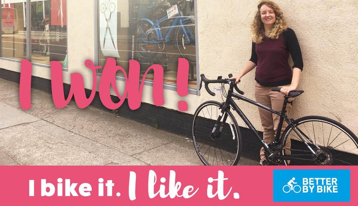 test Twitter Media - Congratulations to I Bike It, I Like It winner, Hannah! She picked some great prizes at @EvansCycles, find out more: https://t.co/68c1VD0L2l https://t.co/trHzt5oQgz