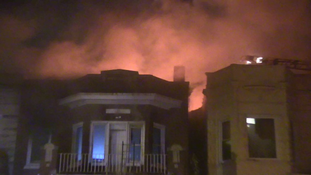 Man found dead in Lawndale fire that spread to 3 buildings, police say