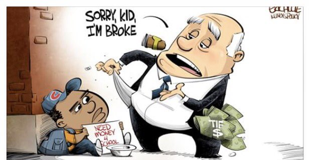 test Twitter Media - The Illinois Policy Institute should apologize for this racist, bigoted cartoon immediately and GovRauner should denounce the group! https://t.co/1vkh6twTRY