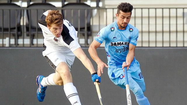 Indian men's hockey team ends Europe tour on a high with a 4-3 win over Austria