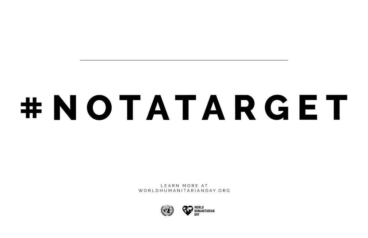 provar Twitter Mitjans - 🌍📣 Los civiles #NoSonUnObjetivo  #NotATarget #WorldHumanitarianDay https://t.co/TEXNAWsp6s https://t.co/XAzrs935RV