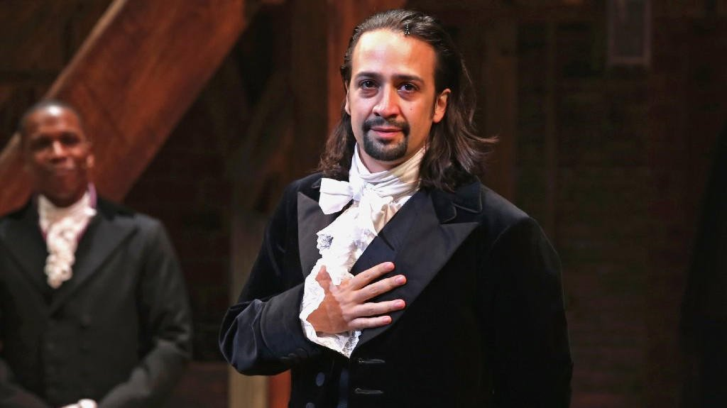 'Hamilton' creator Lin-Manuel Miranda is speaking to students with an L.A. congressman today but we can't tell you where