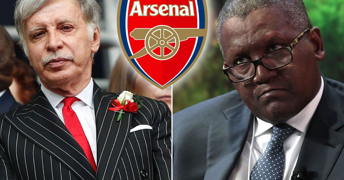 Africa's richest man wants to buy Arsenal - and the Nigerian billionaire believes Stan Kroenke could sell