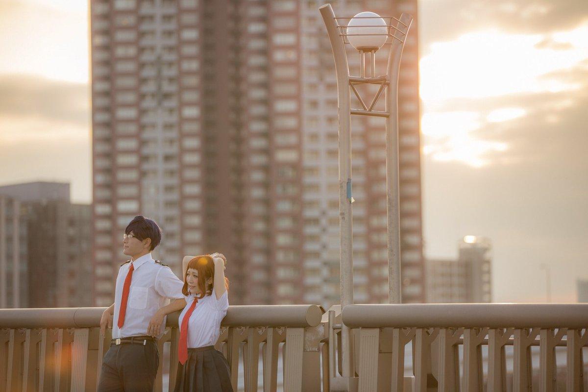 【僕のヒーローアカデミア】麗日お茶子→ひしろ飯田天哉→せきphoto→てつさん #となこす2017