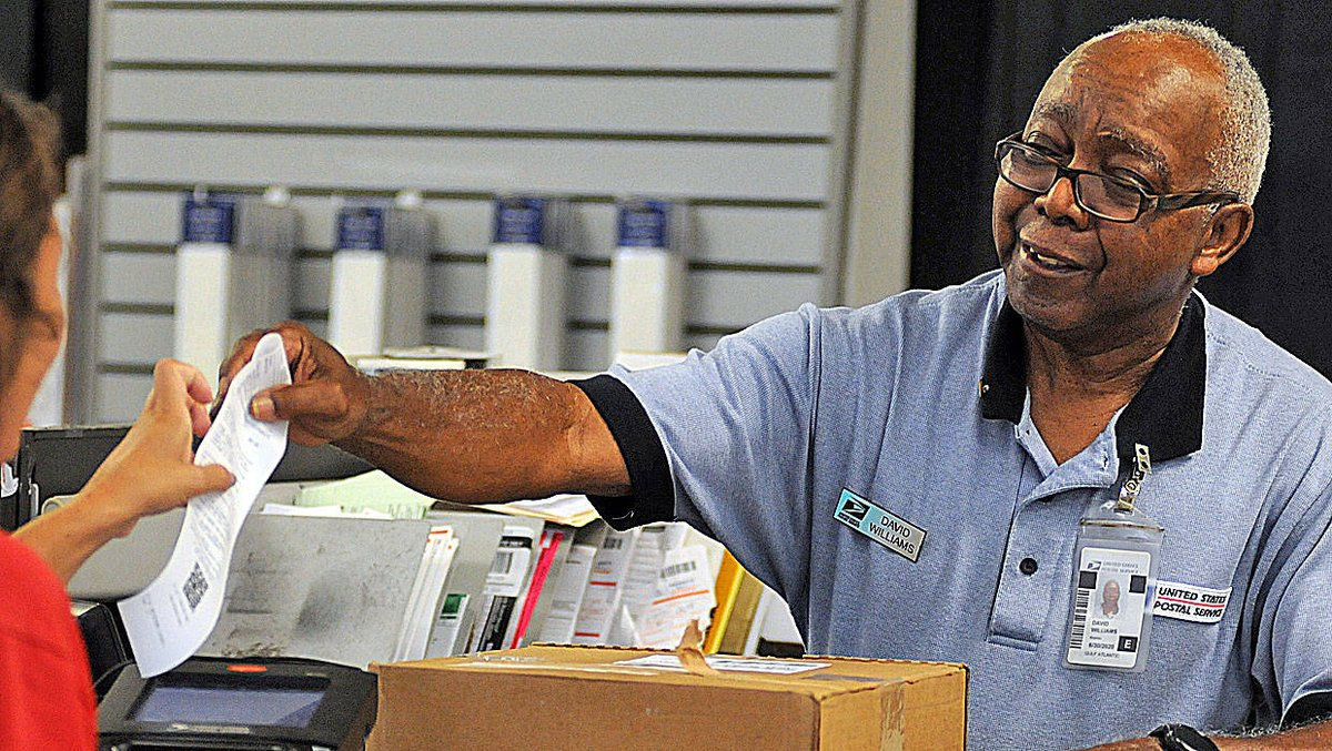Terry Dickson: Age doesn't slow mail for Brunswick man