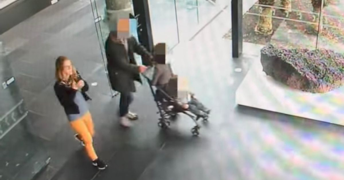 Missing 'murdered' mum-of-two last moments captured on chilling CCTV days before husband kills himself in front of police