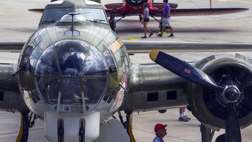 Lone Star Flight Museum planes fly from Galveston to Houston