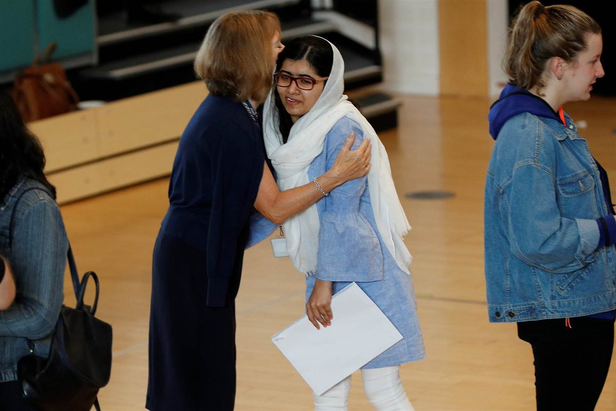 "Malala Yousafzai ""excited"" after wining a place at Oxford University"