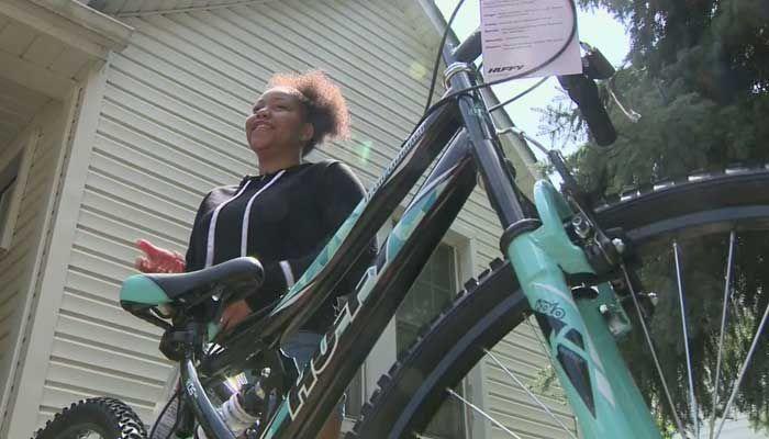 Girl's bike is stolen; cops get her a new one