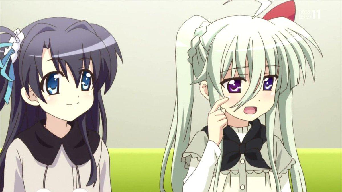 【ViVid Strike! シーンお題】この二人は一体、どんな事を話しているでしょう?(あなたの思ったように)#viv