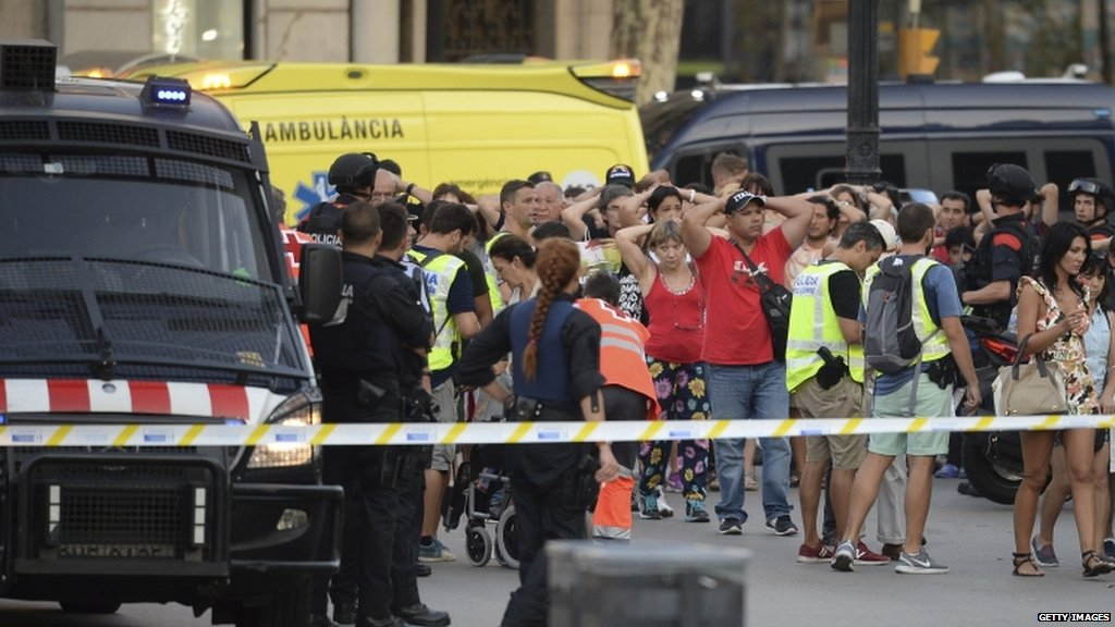 #Barcelona attack latest:  • 13 dead, official says • 50 injured • Man arrested  Updates: https://t.co/uaauW6rmRZ https://t.co/ps5NdgSN5t