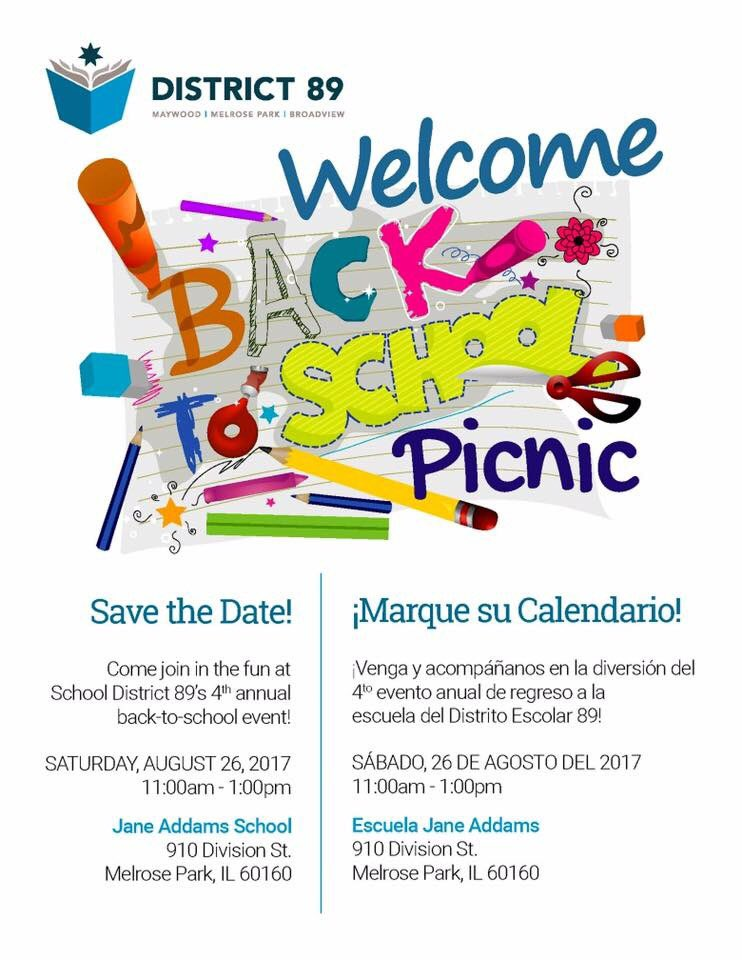 test Twitter Media - If you have a child that attends @maywood89, please stop by their Back to School Picnic on August 26, 2017 from 11-1. My office will be out. https://t.co/y58hYFxmiu