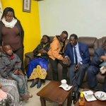"""""""No Senior IEBC official visited Chris Msando's family,"""" says Raila Odinga"""