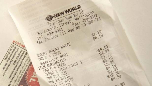 It pays to check receipts for scanning slip ups