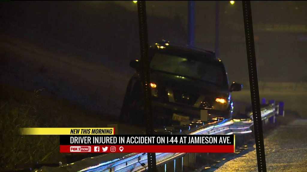 Driver injured in accident on I-44 at Jamieson