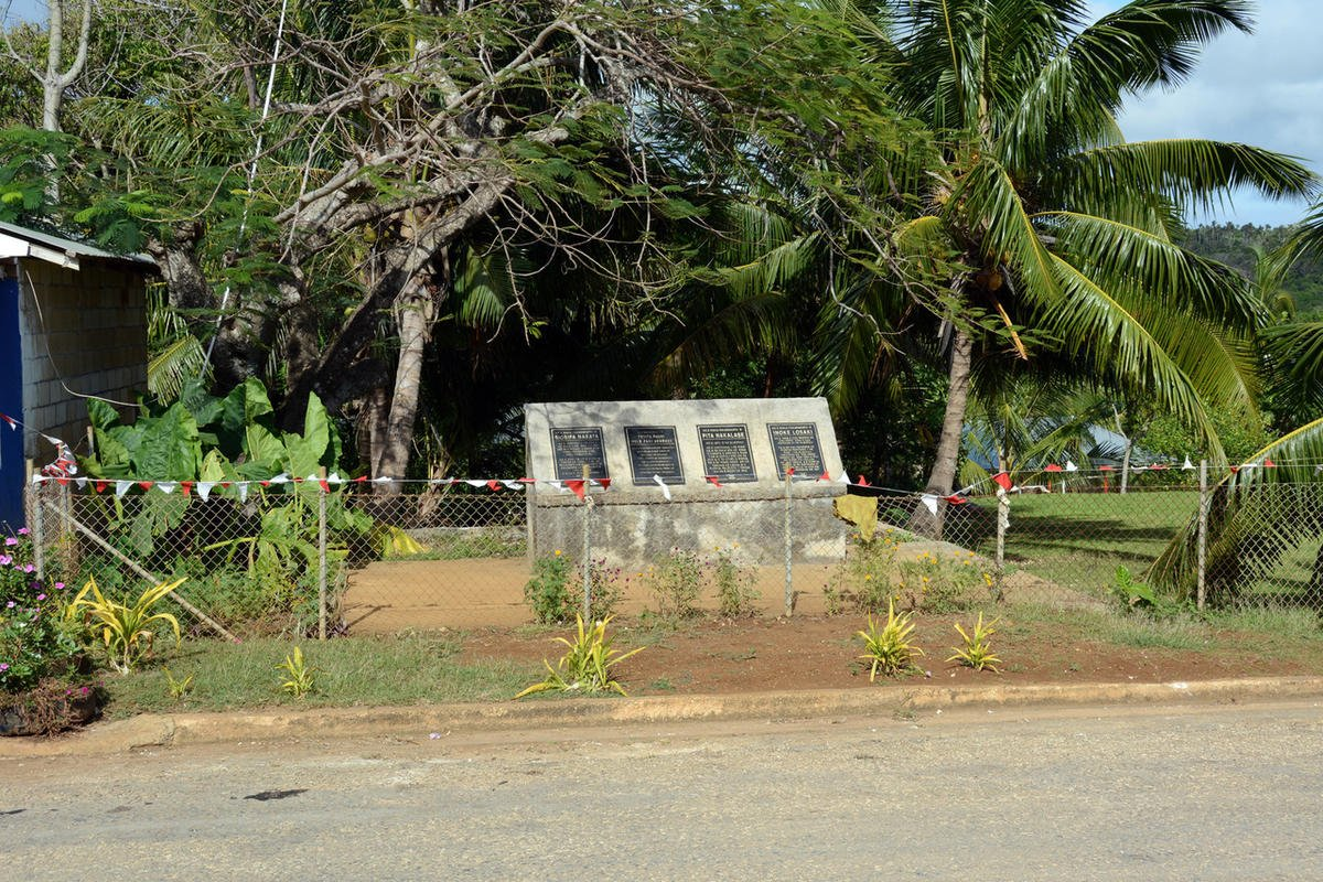 Picturing history: Ha'alaufuli chapel site, Tonga