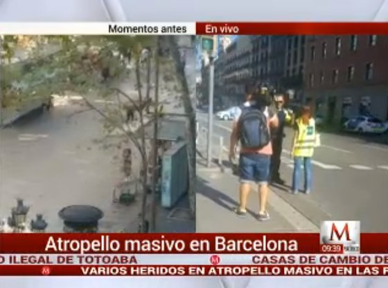 Camioneta arrolla a grupo de personas en Barcelona https://t.co/Aol2gut3fE https://t.co/73LnJFNVD0