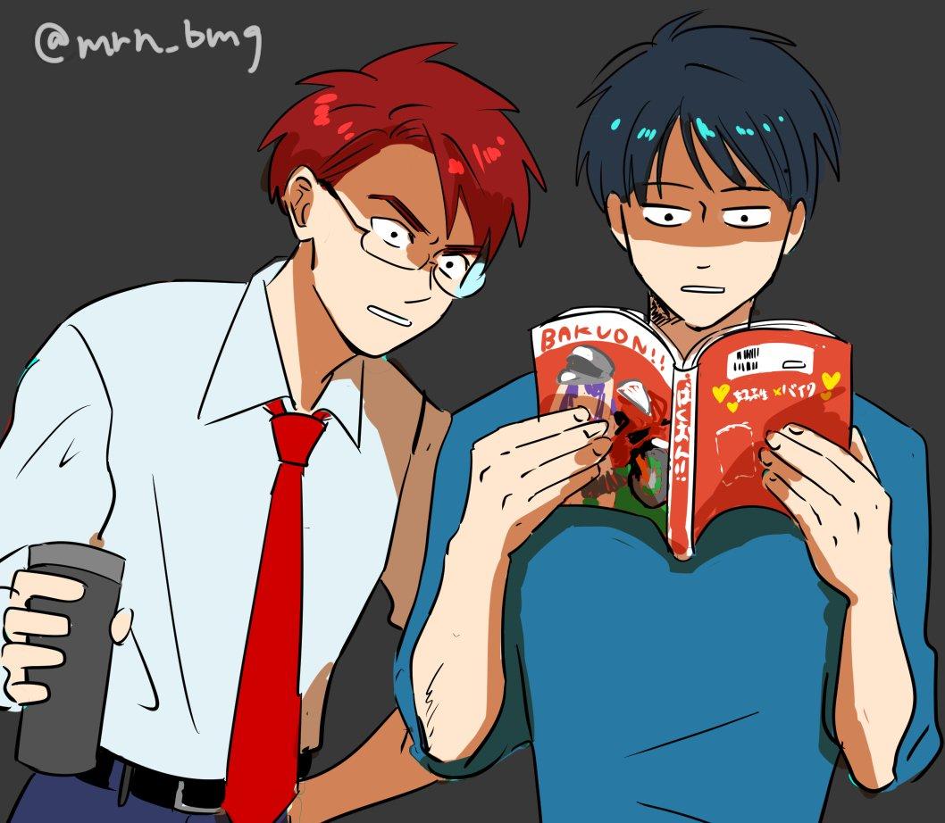 なんの事前情報もなしに「ばくおん!!」10巻を読んでしまったヤマハくんとホンダさんの図(両方ともコミックス派) #バイク