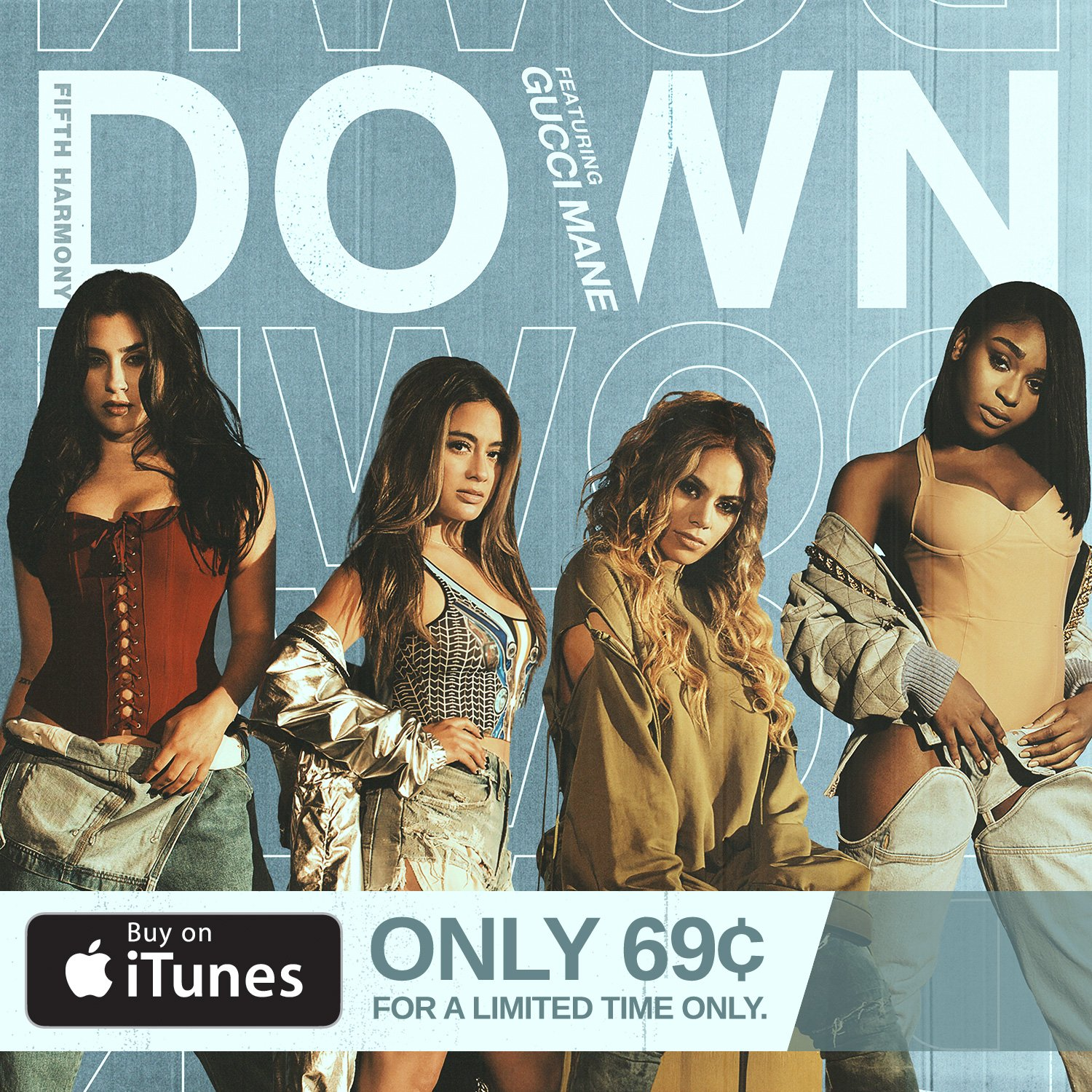 For a limited time, you can get DOWN on iTunes for $0.69! We gon' keep lovin' you ❤️ https://t.co/DMIcTzgoxO https://t.co/fxZ4xhGamv
