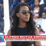 Alfred Mutua sworn in as Machakos governor