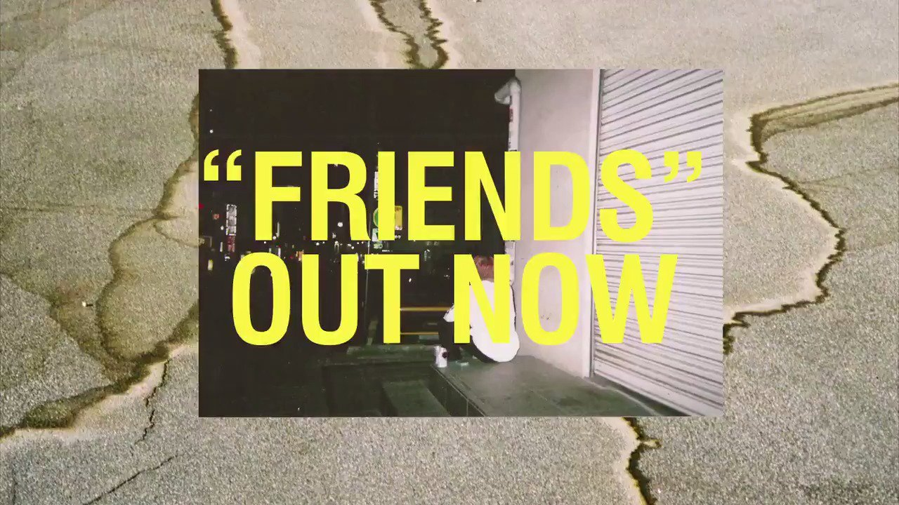 New song #Friends out now @bloodpop https://t.co/Bzzi41jtGd https://t.co/CxrvzXUdmZ