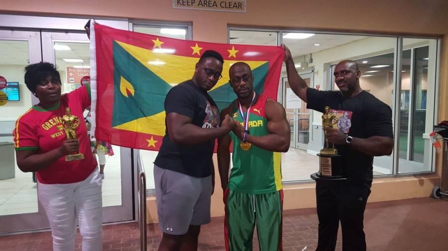 Another Major Achievement for Grenadian Bodybuilder Hafid James
