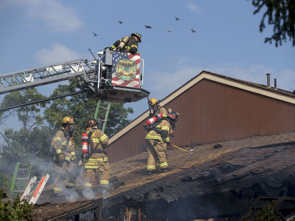 Home heavily damaged by fire in East Pennsboro Twp.