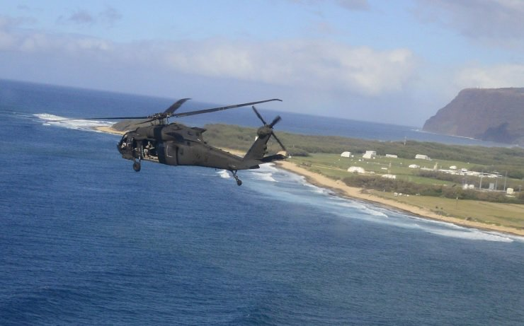 5 missing after Army helicopter crashes off Hawaii
