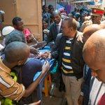 President urges Kenyans to maintain unity , shun violence