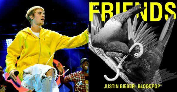 Justin Bieber and BloodPop have released a new song. Listen to Friends: