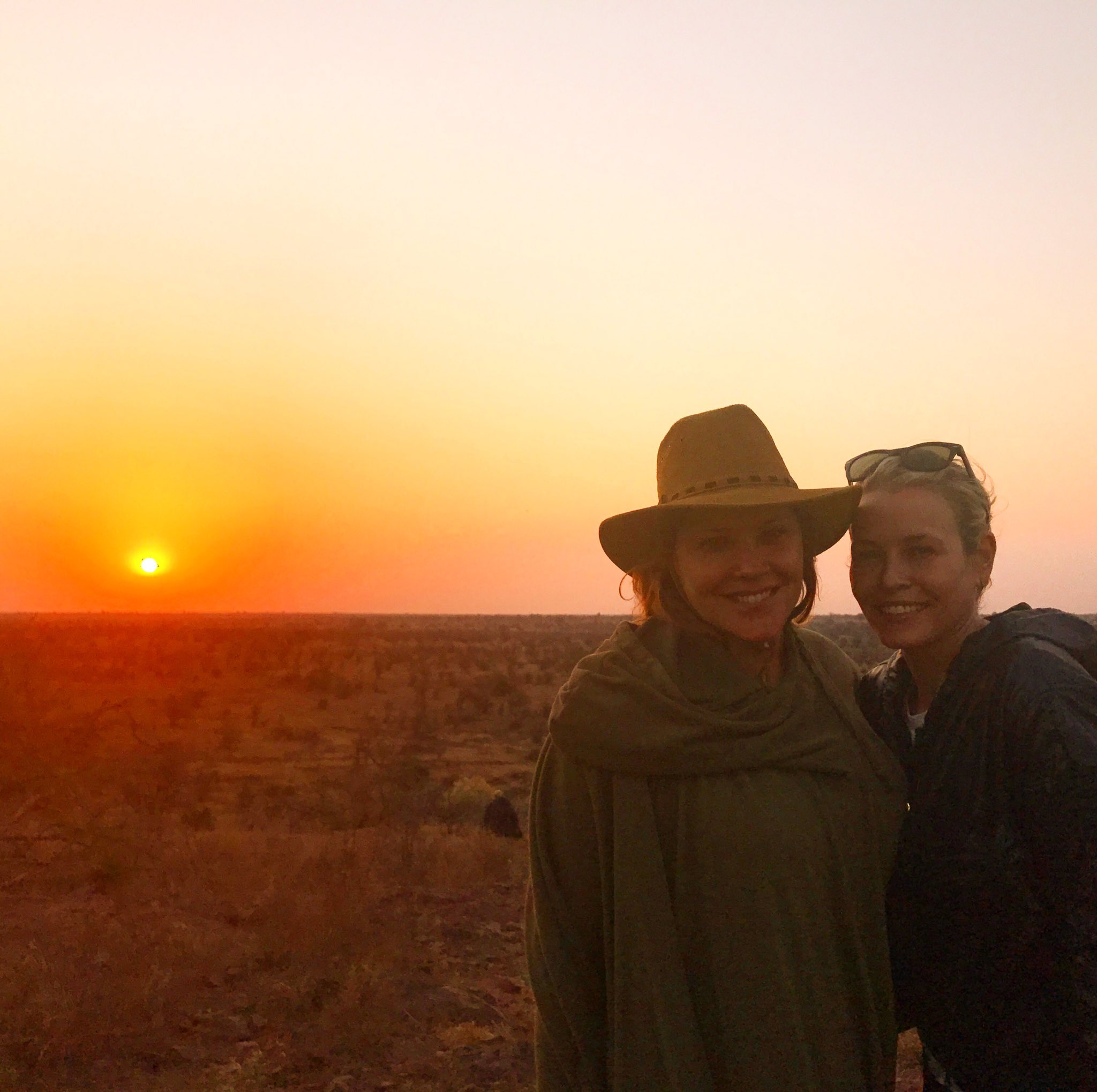 Me and my bestie @marycmccormack trying to act like we don't care about our country while on vacation in Africa. https://t.co/LJ0YTOEKG3
