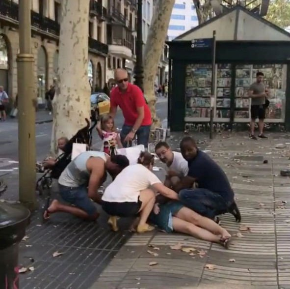 UPDATE: Catalan regional head says 80 people hospitalized after Barcelona van attack https://t.co/qUkFb7CVGO https://t.co/oVpQptWu1O
