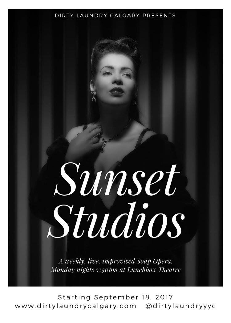 test Twitter Media - LOOK 🙌AT 🙌 OUR🙌 NEW 🙌 POSTER 🙌!!!! One month until #SunsetStudios starts - get your season tickets RN. #yycarts #yycliving #yycimprov https://t.co/TKHDNUPrsX