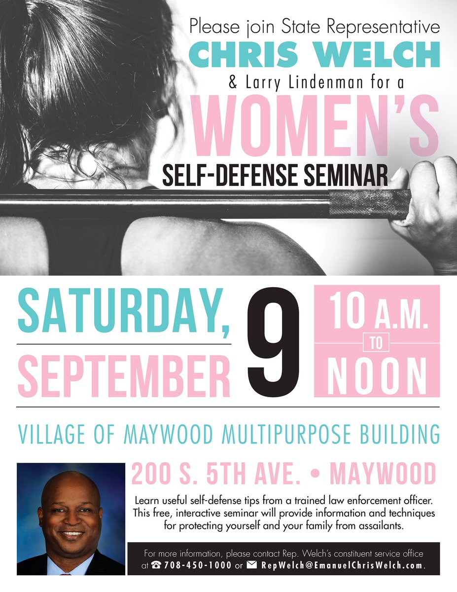 test Twitter Media - Save the date and join us on September 9, 2017 for a Women's Self Defense Seminar with trained law enforcement official Larry Lindenman! RT! https://t.co/eC8JjEVdd6