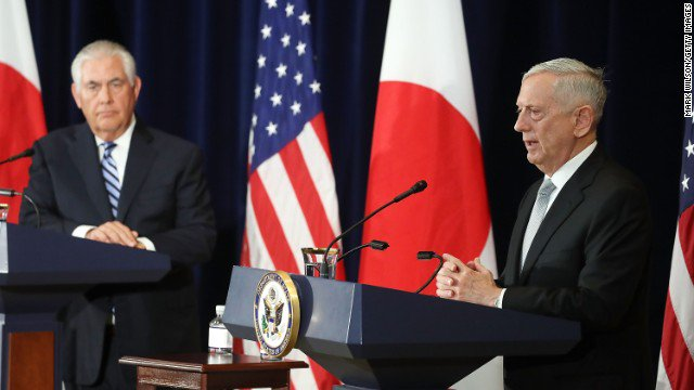 Tillerson, Mattis: Military option still in play for North Korea